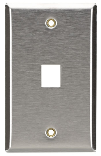 PLACA METALICA KEYSTONE UNA VENTANA BLACKBOX