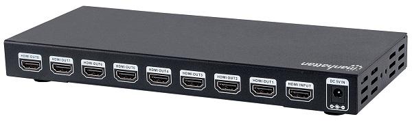 AMPLIFICADOR HDMI 8 SALIDAS 4K MANHATTAN