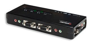 SWITCH KVM 4:1 USB, INC/CABLES MANHATTAN