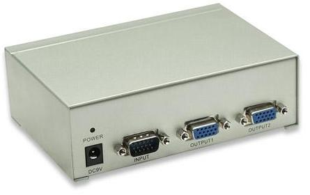 AMPLIFICADOR VGA 1 PC A 2 MON MANHATTAN
