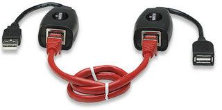 USB EXTENSION ACTIVA 60M,VIA RJ45 MANHATTAN