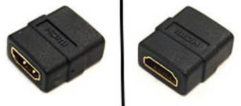 COPLE HDMI HEMBRA A HDMI HEMBRA MANHATTAN