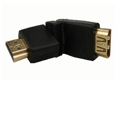 ADAPTADOR COPLE HDMI MACHO-HEMBRA 360? GENERICO