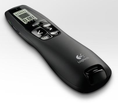 PRESENTADOR R800 APUNTADOR VERDE PAN LCD LOGITECH