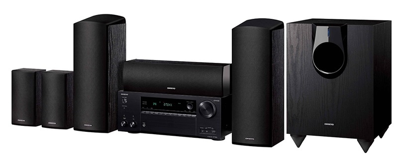 PAQUETE DIGITAL A/V 5.1 CANALES 130 WXC ONKYO