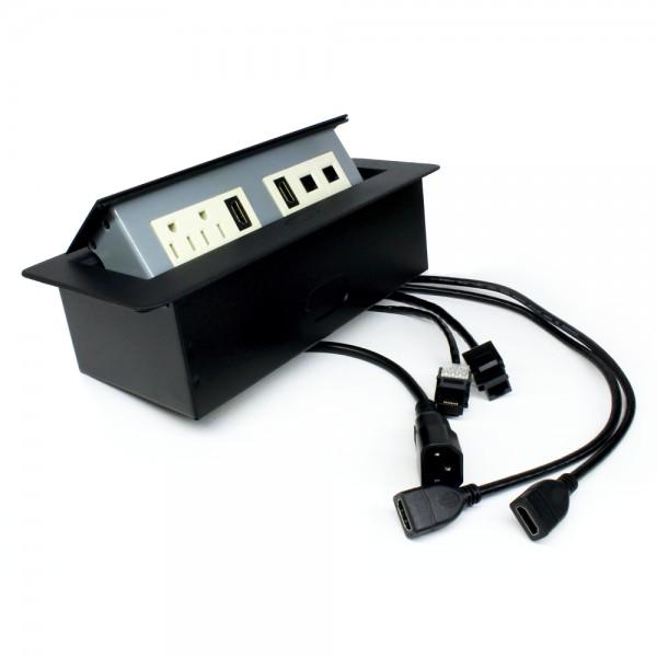 PANEL 2 CORR, HDMI, 2 RJ45 y USB