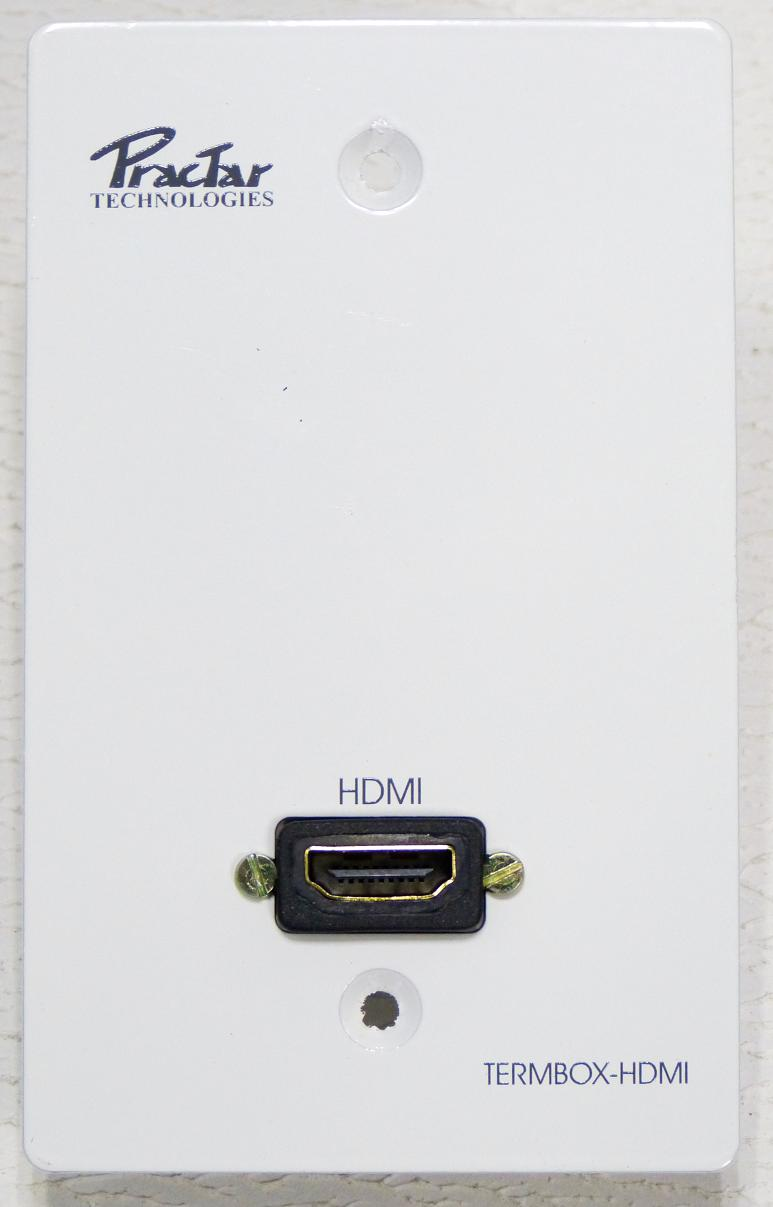 PLACA METALICA HDMI