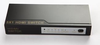 SWITCH 5X1 HDMI C/REMOTO