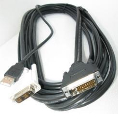 CABLE P/INFOCUS M1, 5.0M  DVI/USB MANHATTAN
