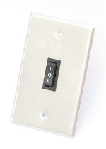 SWITCH DE PARED PARA SKYDOOR(R) METALICA TODOVISUAL