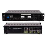 AMPLIFICADOR 240W, USB/SD, 3 MIC, 70V/OH REDLEAF