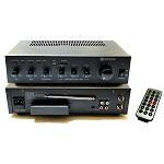 AMPLIFICADOR 30W, USB/SD, 2 MIC, 70V/OHM REDLEAF