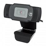 CAMARA WEB FULL HD 1080P, CON MICROFONO MANHATTAN