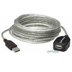 EXTENSION ACTIVA USB DE ALTA VEL 4.5M AA MANHATTAN